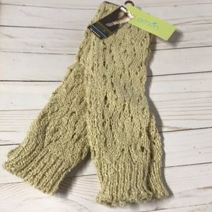 Leg Warmers NWT Cable-knit extra long